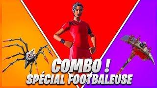 8 COMBO DE SKIN SPÉCIAL FOOTBALLEUSE SUR FORTNITE !
