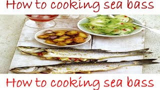 How To Cooking Sea Bass - Sea Bass With Pepper And Ginger