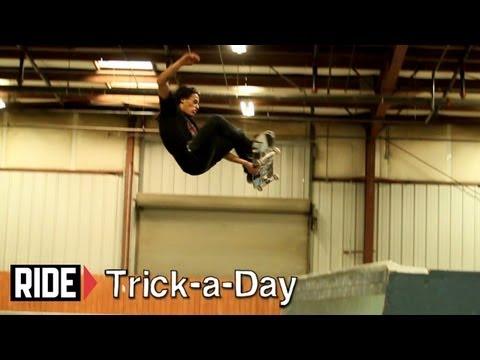 How-To Skateboarding: Frontside Stalefish With SOTY David Gonzalez