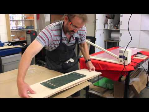 Skateboard Lamination Process