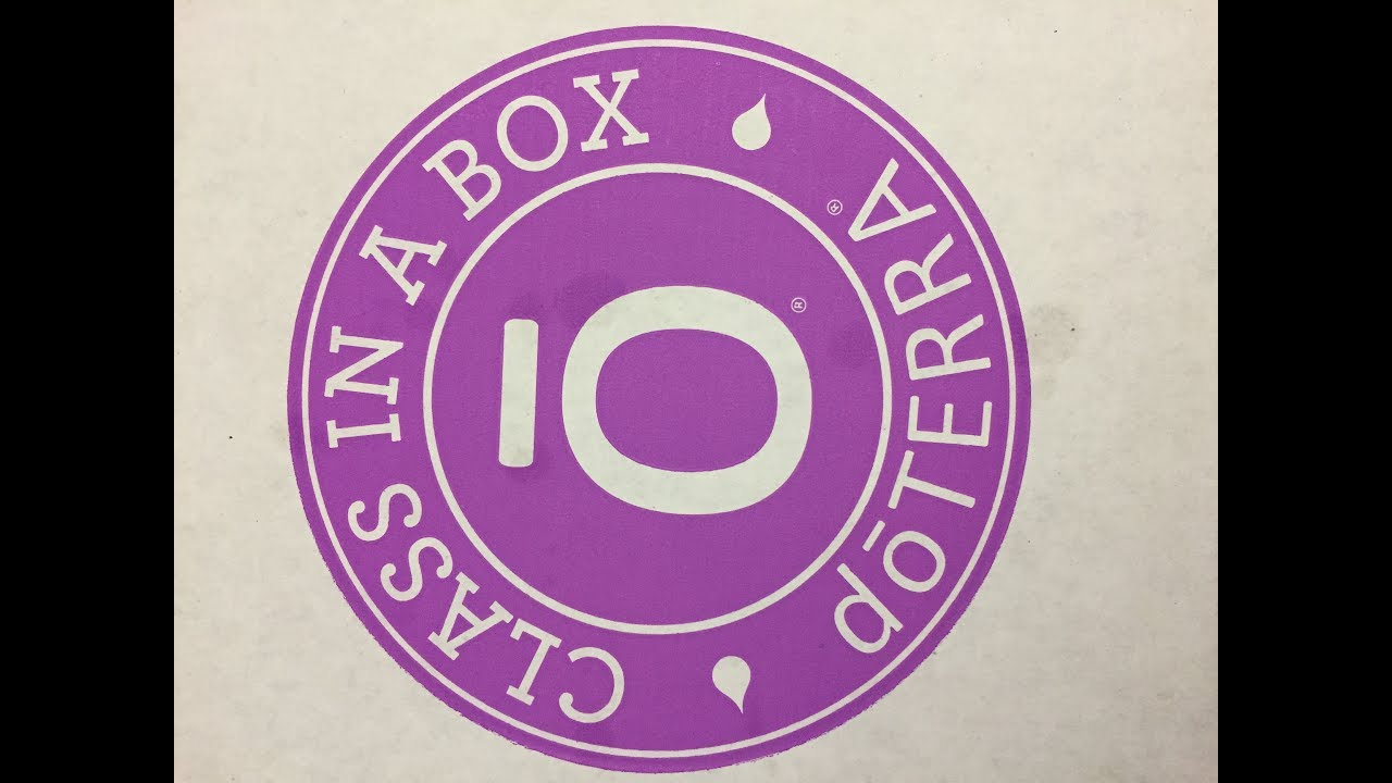 doterra class in a box pdf