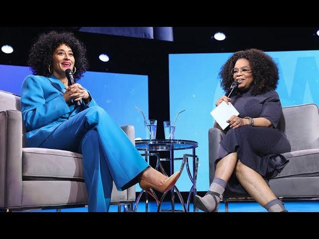 Tracee Ellis Ross Sits With Oprah's 2020 Vision Tour