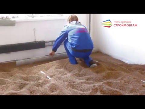 видео: Сухая стяжка пола - Ремонт квартиры в новостройке под ключ