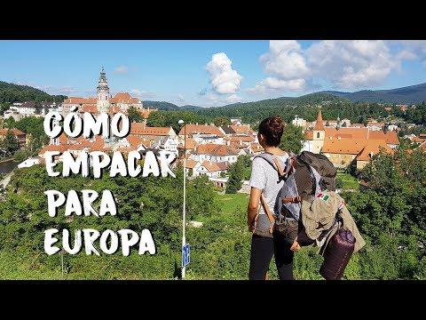 QUÉ EMPACAR PARA EUROPA | GUÍA PASO A PASO BACKPACKING