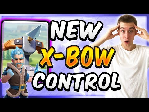 The ONLY Viable Xbow Deck! New Xbow Control Deck  — Clash Royale