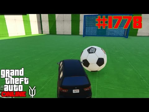 GTA 5 ONLINE Autoball im Editor erstellen #1778 Let´s Play GTA V Online PS4 YU91