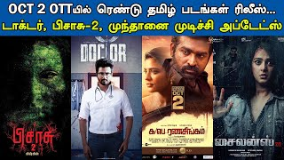 Kollywood Today | Doctor, Maanaadu, Pisaasu 2, Mundhanai Mudichi, Cinema News | Tamil