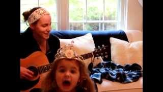 "Mommy and the Princess perform for The Avett Brothers ""Live and Die"" cover contest"