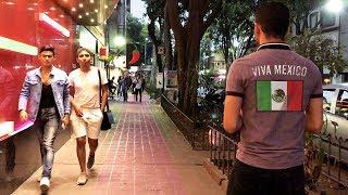 MEXICO CITY — Zona Rosa, Video Walk 【4K】🇲🇽