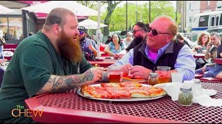 Pizza with Mario Batali & Action Bronson on The Chew