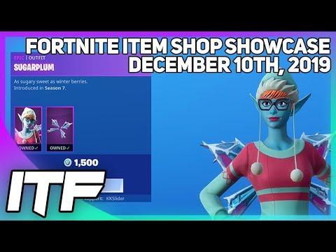 Fortnite Item Shop *RARE* SUGARPLUM IS BACK! [December 10th, 2019] (Fortnite Battle Royale)
