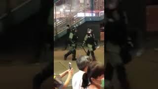 Hong Kong Police cosplay