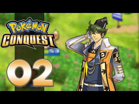 Pokemon Conquest - Part 2 - GET CONQUERED!