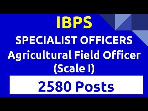 IBPS VACANCY SPECIALIST OFFICERS 2016 RECRUITMENT OF SPECIALIST OFFICERS