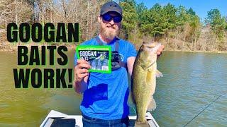 Googan Krackin' Craw Catches Big Bass!