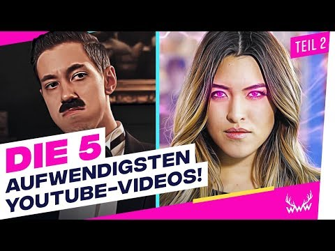 Die 5 AUFWENDIGSTEN YouTube-Videos! - Teil 2 | TOP 5