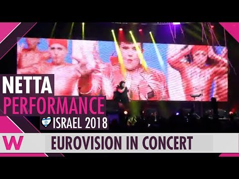 "Netta ""Toy"" (Israel 2018) LIVE @ Eurovision in Concert 2018"