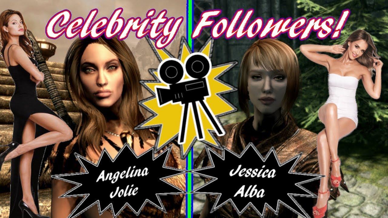 Celebrity Follower Console Mods in Skyrim (Xbox One/PC)