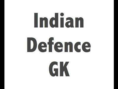 Indian Defence / Military Current Affairs news (January-Augu