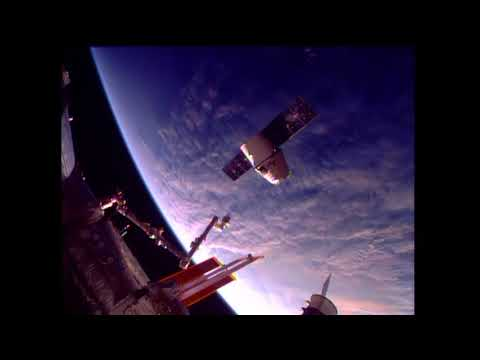 U.S. Commercial Cargo Ship Departs Space Station