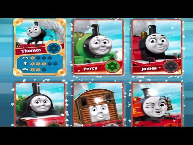 Tomas El Tren En Español Todas Las Locomotoras Amigos De Thomas Desbloqueadas Completo Latino Youtube