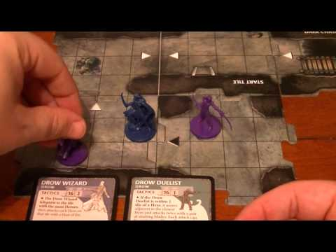 The Legend of Drizzt Board Game Adventure 1 - Exile