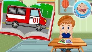 Пожарная машинка.  История про машинки от Крошки Антошки.  Мультик для детей