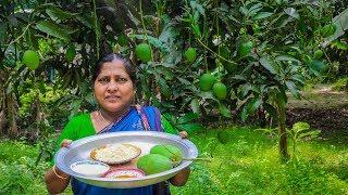 Mango Chop: Green Mango Pakora Fried Recipe a Village Street Food by Village Food Life