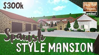 Bloxburg Build || Spanish Style Mansion | Roblox (Part 1)