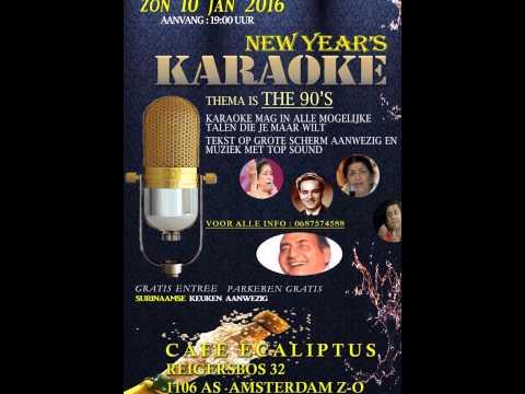 Karaoke E-caliptus 10 januari 2016