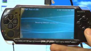 Complete Guide to psp 1000 & 2000 models custom firmware CTF mods how hack Magic memory stick pt 1