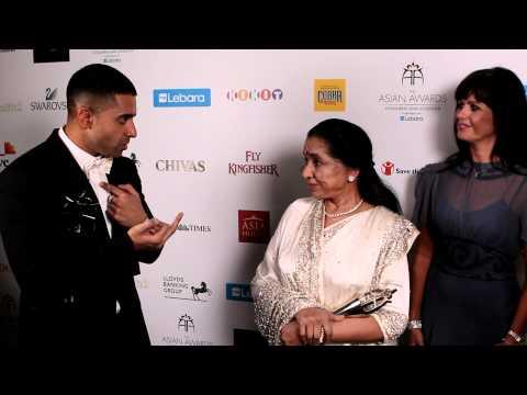 Jay Sean and Asha Bhosle Duet at The Asian Awards 2011