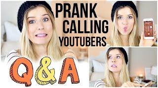 Prank Calling YouTubers, Halloween Costumes & NICK JONAS: Q&A Thumbnail