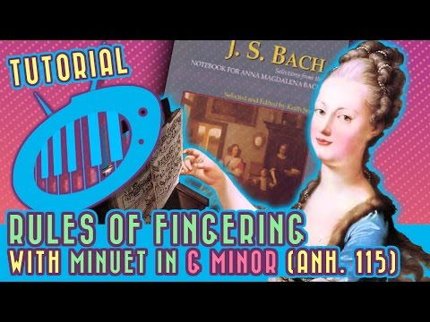 Rules of Fingering: Minuet in G Minor (Anh. 115) Tutorial