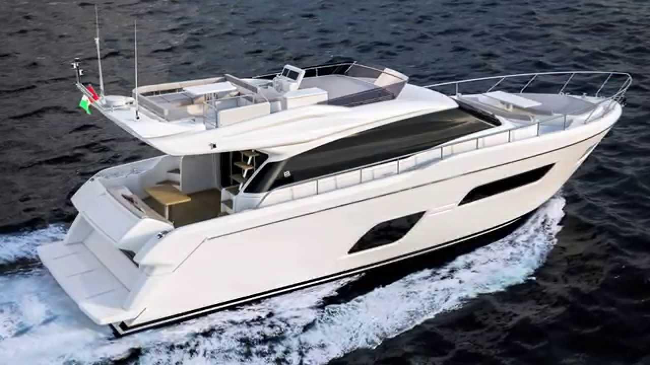 Ferretti Yachts 550 Preliminary