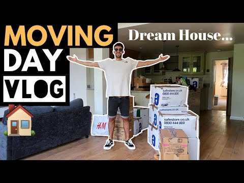 MOVING INTO OUR DREAM HOUSE | EMPTY HOUSE TOUR thumbnail