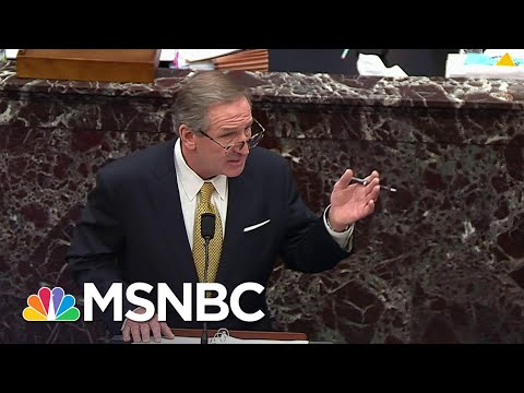 Trump Defense Attorney: 'The President Did Not Engage In Any Language Of Incitement' | MSNBC