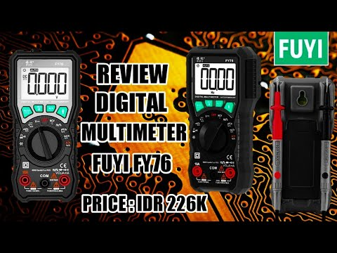 Review FUYI FY76 I Digital Multimeter