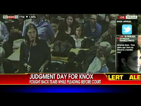 Amanda Knox Delivers Final Remarks in Appeals Trial, Verdict Expected Today