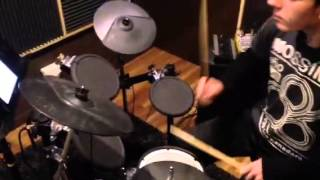 Christian robin Thicke when I get you alone drum cover