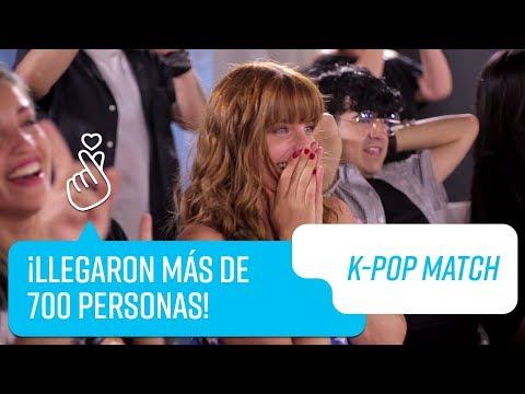 ¡Exitoso y masivo casting  K-Pop Match