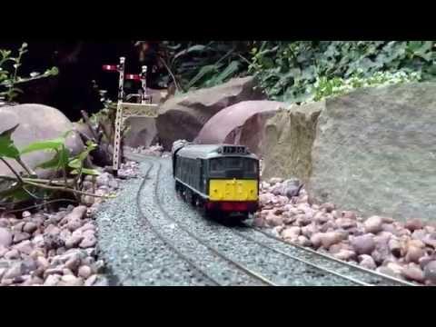 OO Gauge Garden Railway.