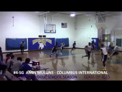 AMIN MULLINS vs Woodward Park Middle School 8th GR