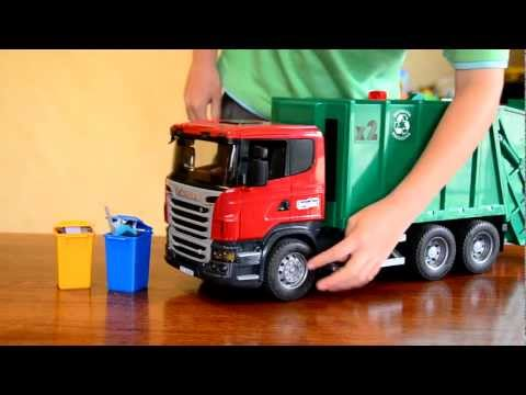 Zach the Garbage Truck Scania Rear Loader