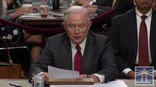 'I did not recuse myself from defending my honor ' | Sessions testifies before Senate committee