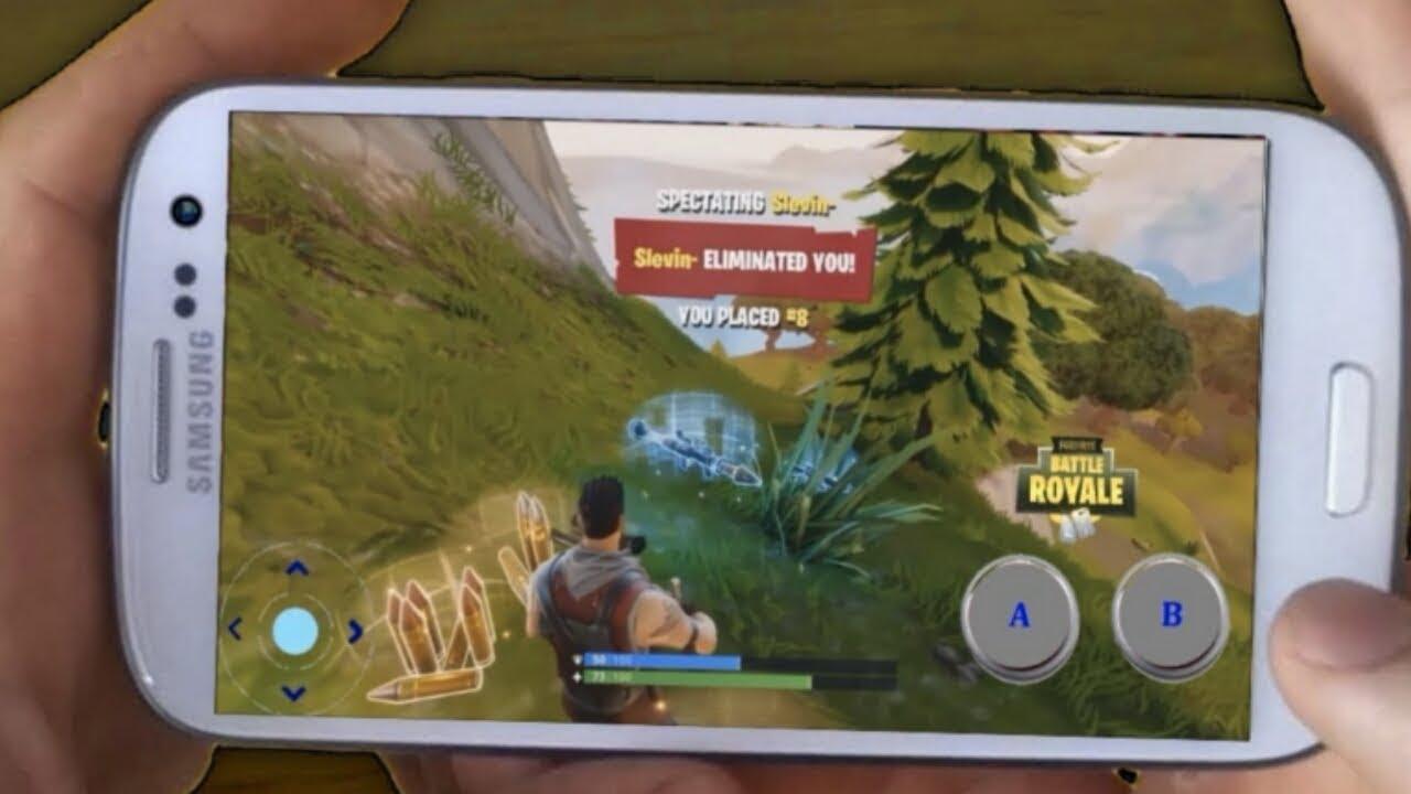 download fortnite battle royale android no verification