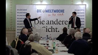 Weltwoche On the Road: Matthias Aebischer & Roger Köppel