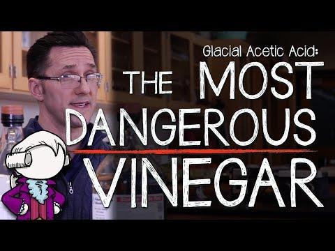 Glacial Acetic Acid: The Most Dangerous Vinegar!