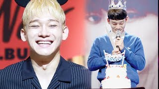 Happy Birthday To  CHEN So Happy and Smile Forever