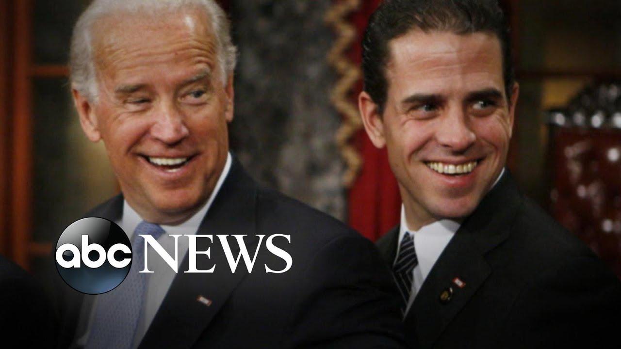 Joe Biden S Son Addresses Drug Addiction Relationships And Corruption Allegations Youtube